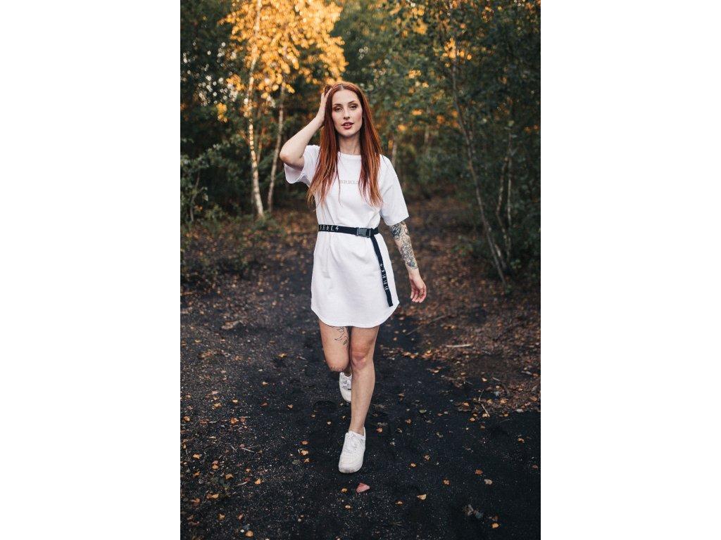 Bílé šaty Brakeless