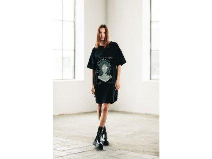 Černé šaty Brakeless