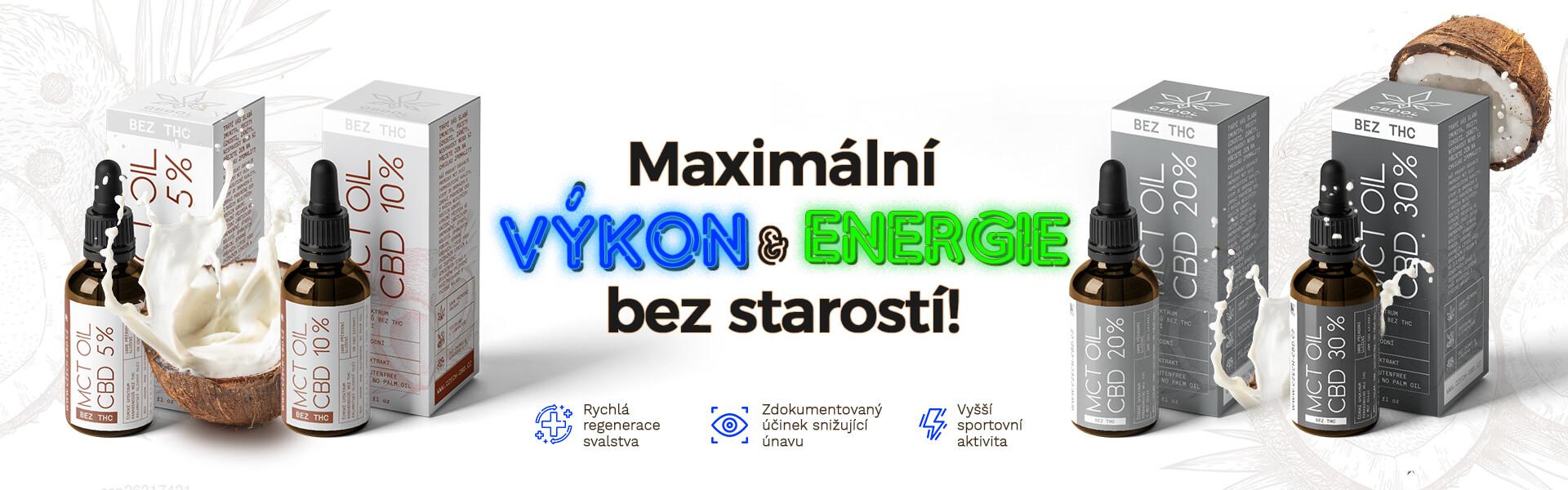 MCT kokosový olej s cbd! Kvalitní spánek, relaxace svalstva a klidná mysl.