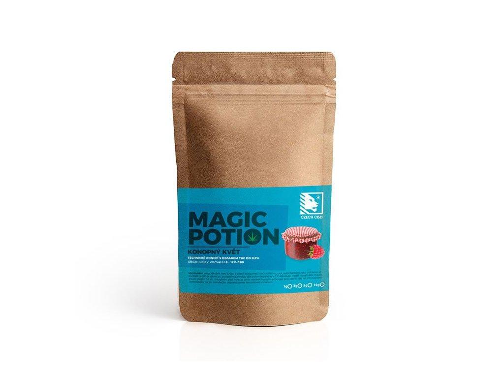 magic potion konop kvet cebede