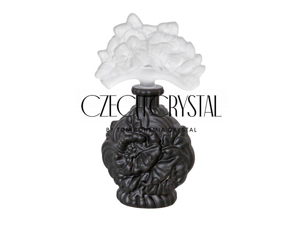 Perfume Bottle - Flower (BLACK)