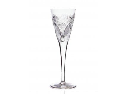 Wine Glass - Peacock butterfly (130 ml)