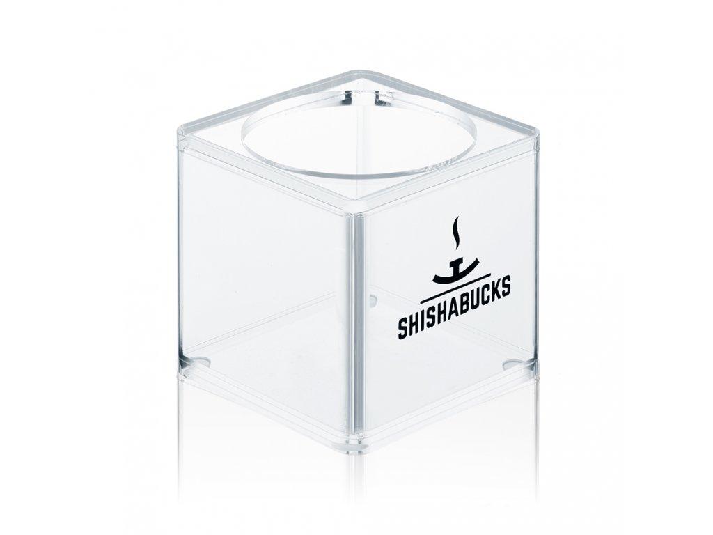 Váza Shishabucks Cloud Mini 12 cm čirá