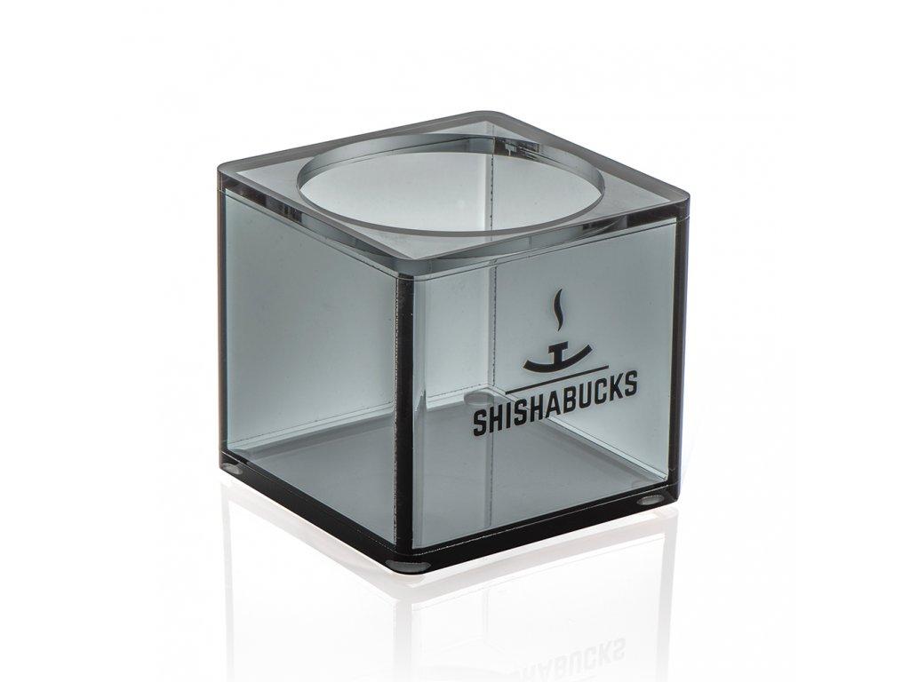 Váza Shishabucks Cloud Mini 12 cm šedá
