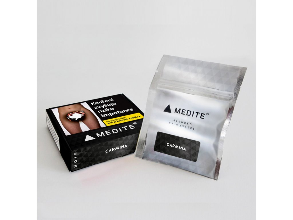 4991 tabak medite noir carmina 50 g
