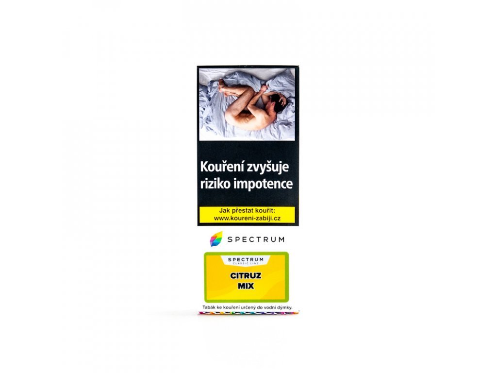 5525 tabak spectrum classic citruz mix 100 g