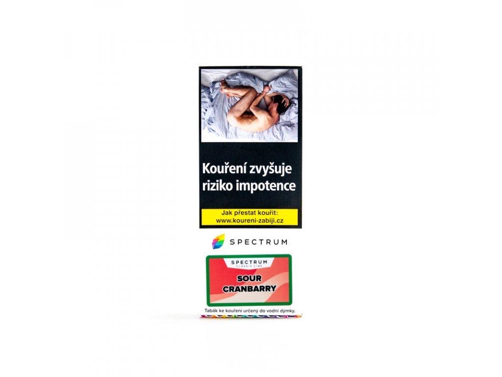 5549 tabak spectrum classic sour cranbarry 100 g
