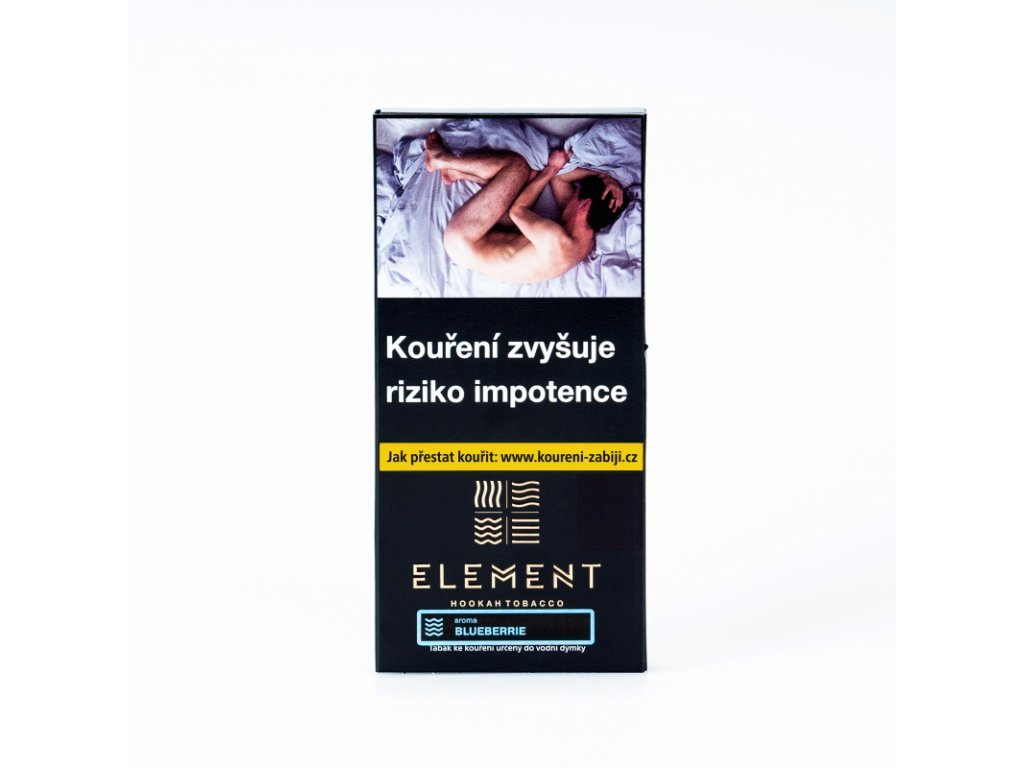 5882 tabak element water blueberrie 40 g