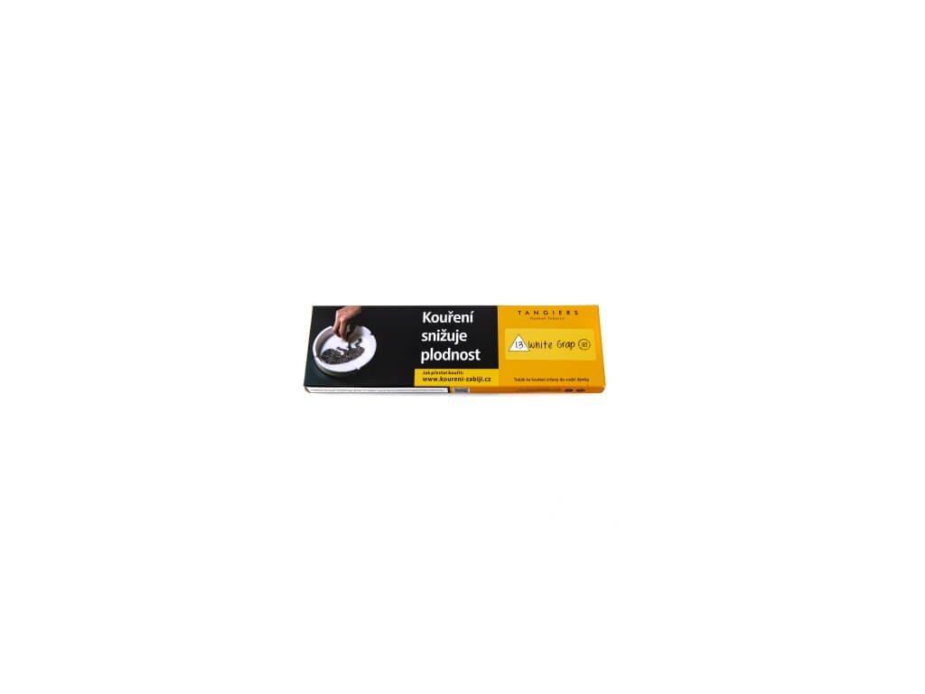 6578 tabak tangiers noir white grap 100 g