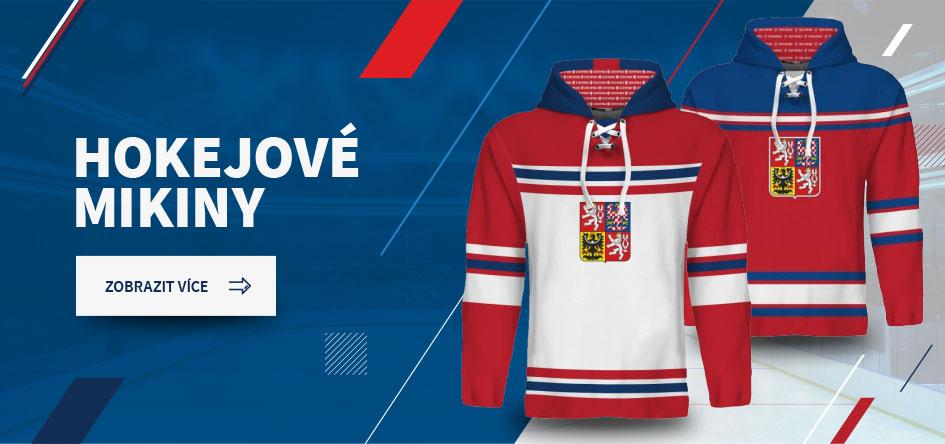 Hokejové a sportovní mikiny v národních barvách | CZECHMANIA.CZ