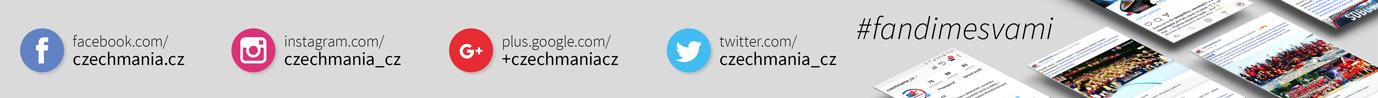 Fandíme s vámi na sociálních sítích. #fandimesvami #czechmania