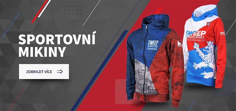 Stylové  pánská a dámské sportovní mikiny značky SWEEP | CZECHMANIA.CZ