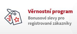 Věrnostní program | Bonusové slevy pro registrované zákazníky
