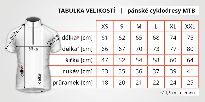 tabulka_velikosti_panske_cyklodres_mtb