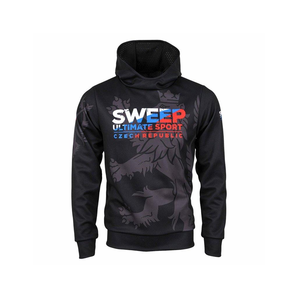 hoodie man utsport cr black