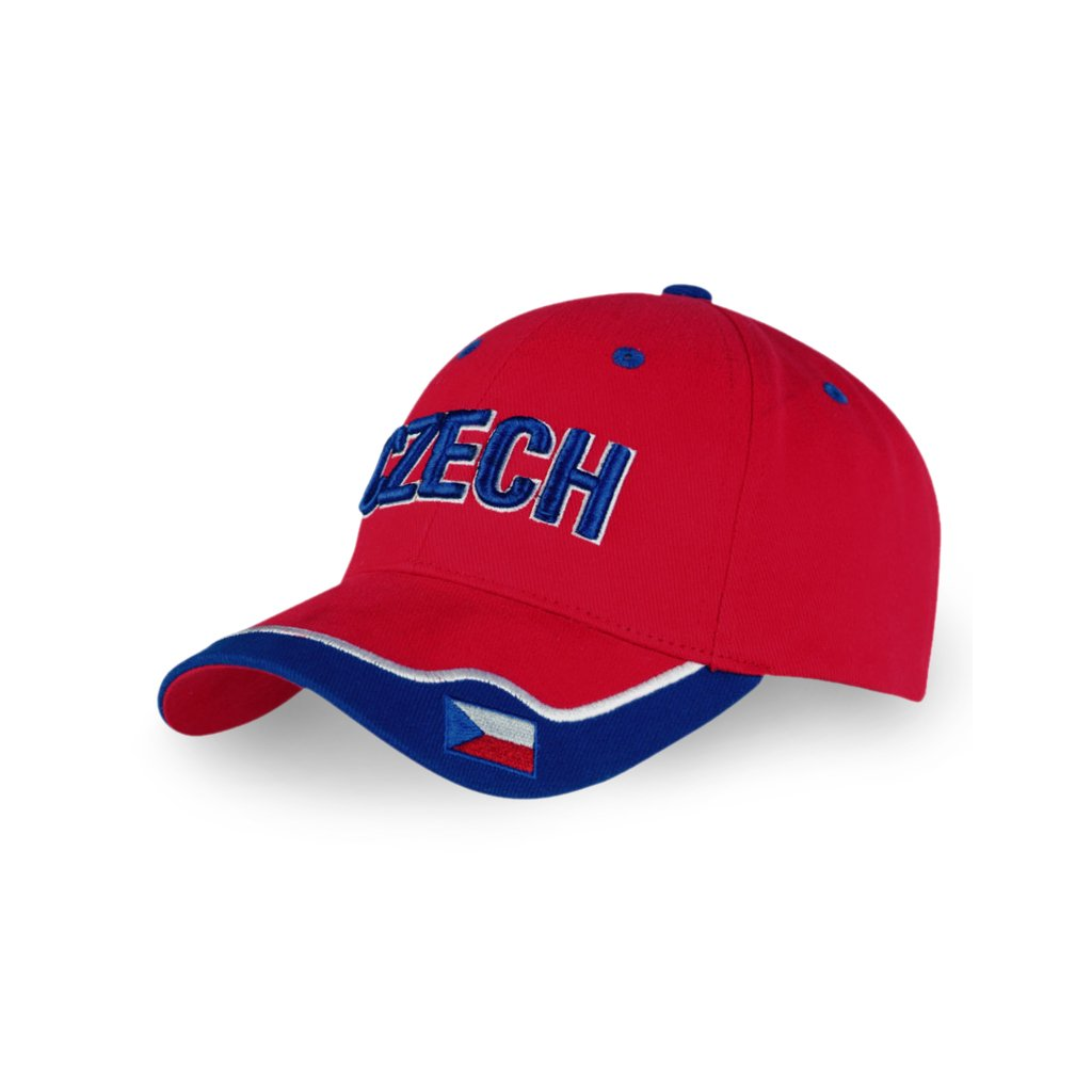 red cap CZECH flag