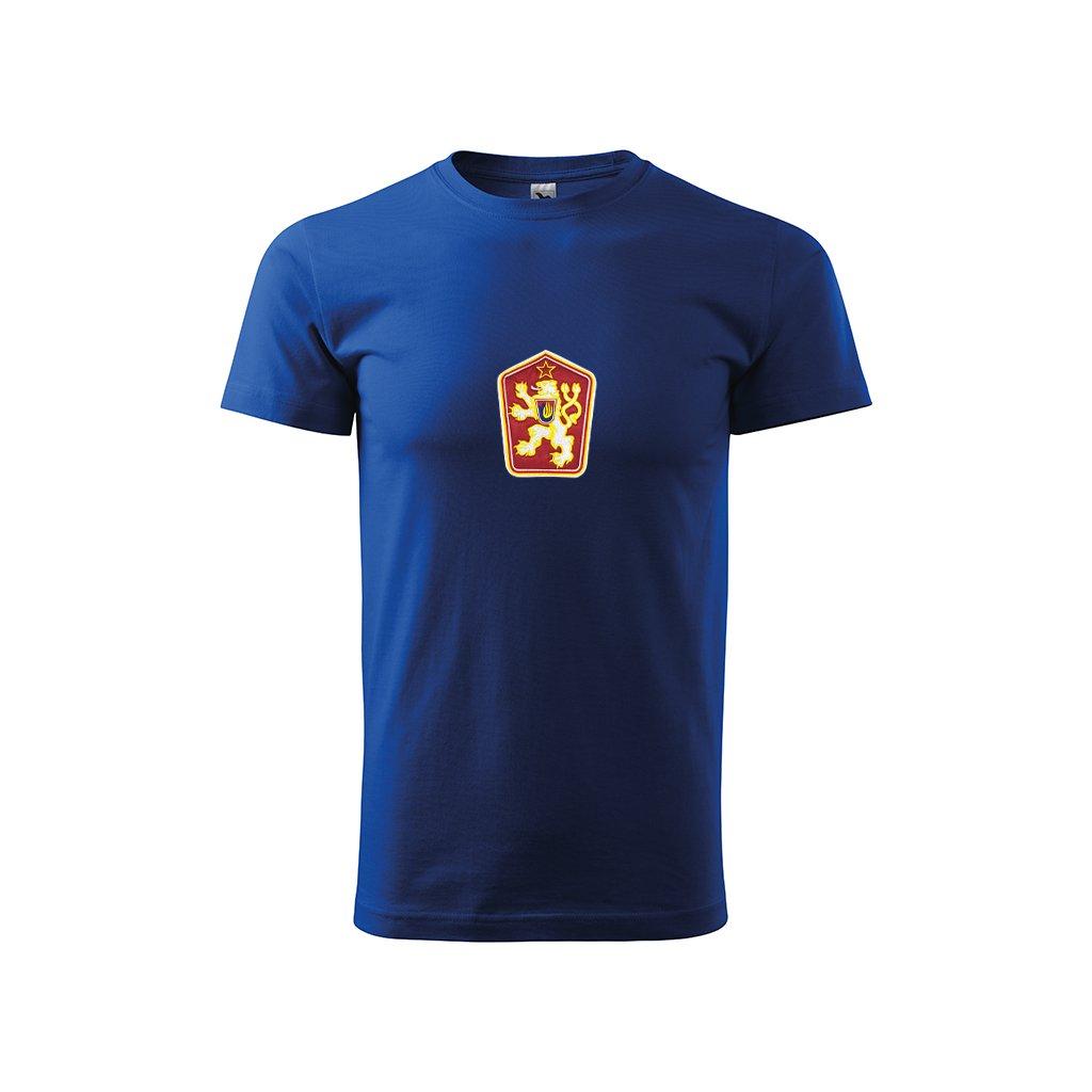 Tričko ČSSR – pánské, modré