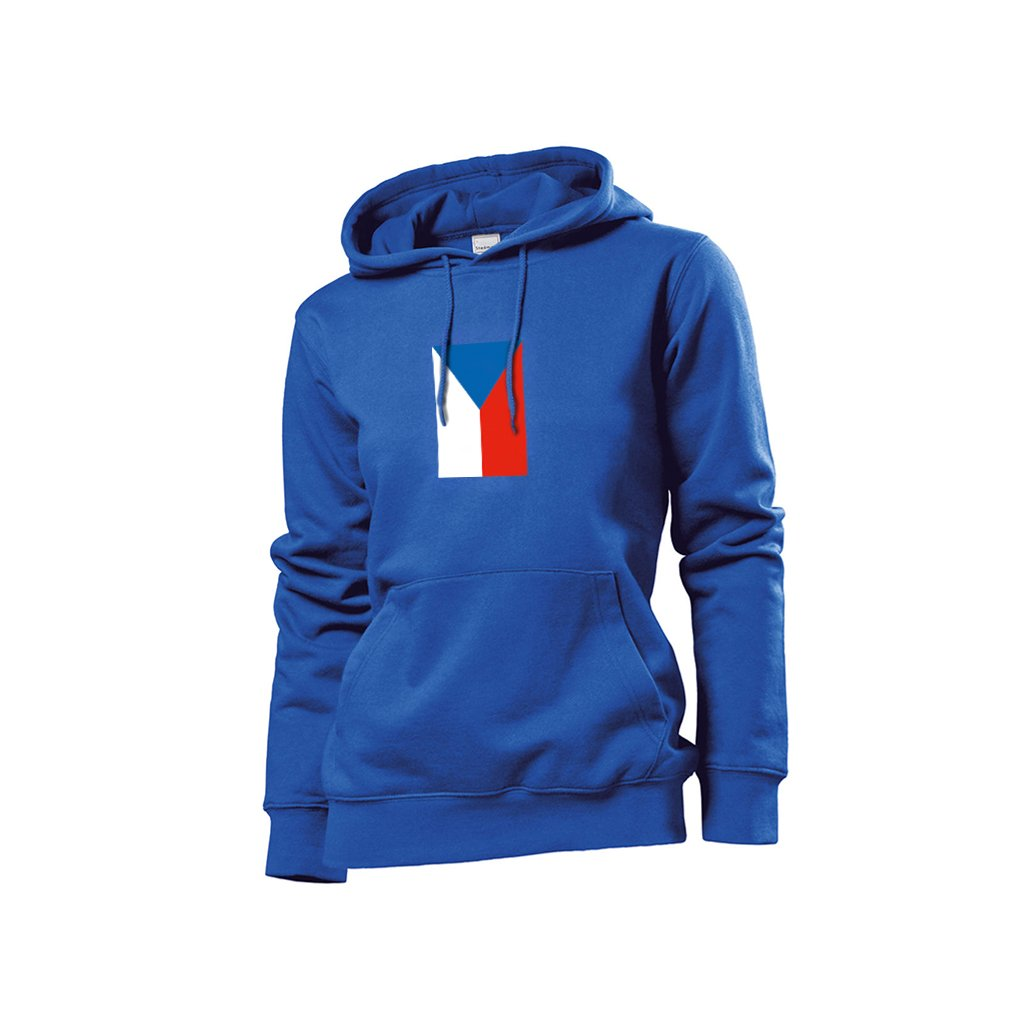 blue hoodies czech flag