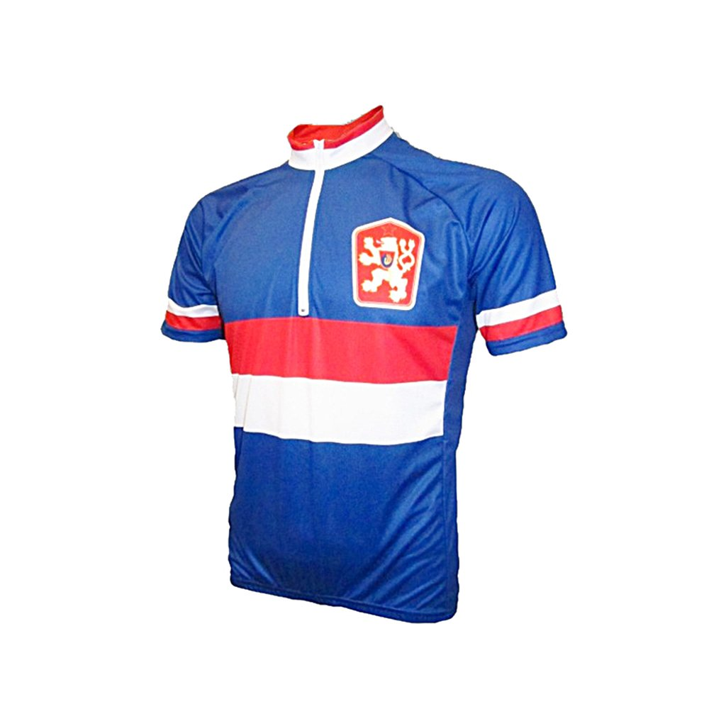 cycling jersey cssr blue