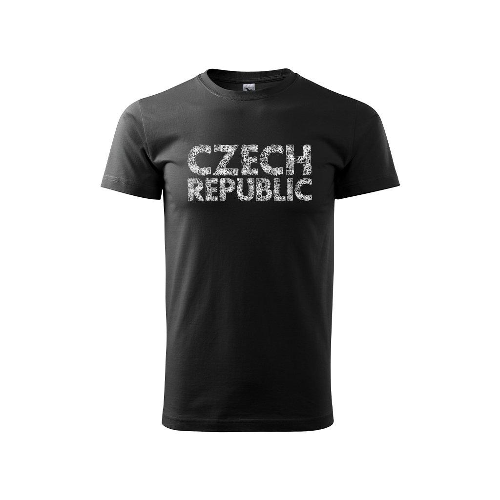 tshirt man black czech republic