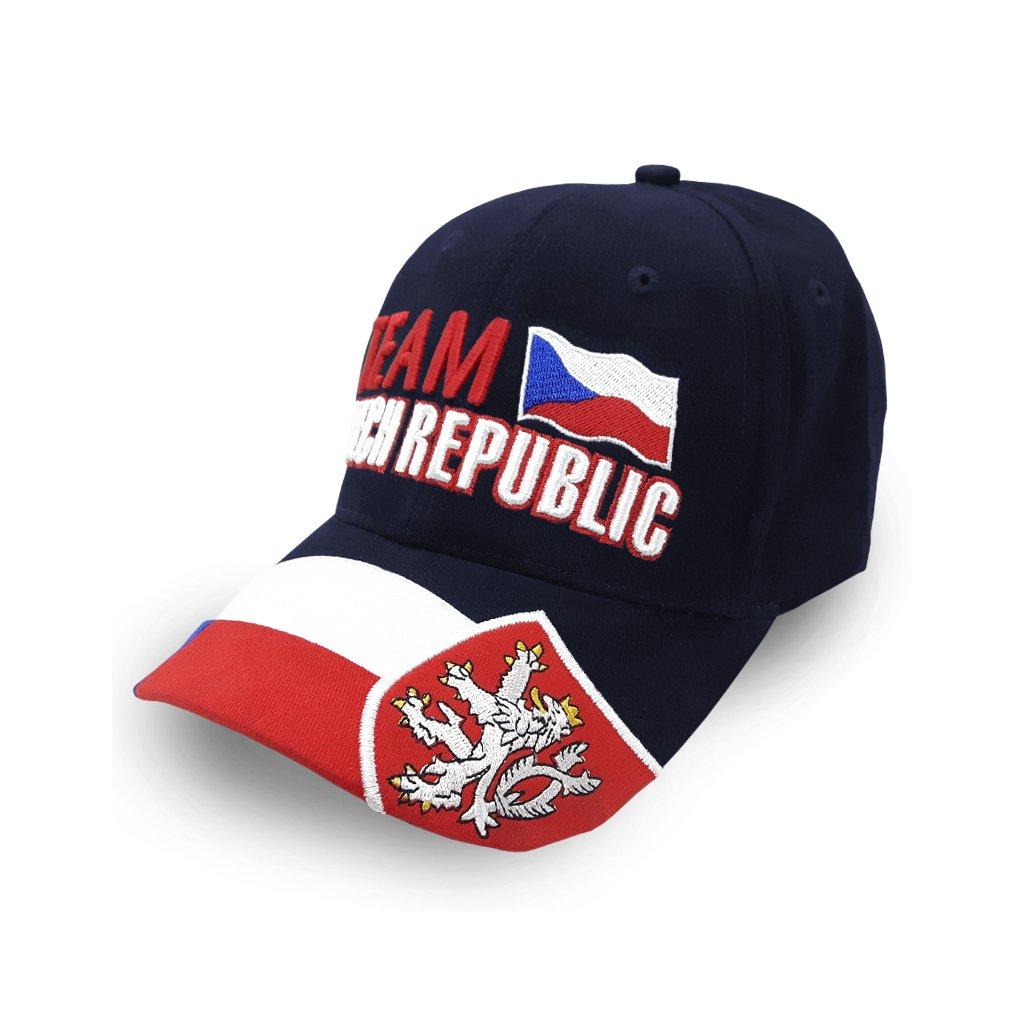 cap TEAM CZECH REPUBLIC blue