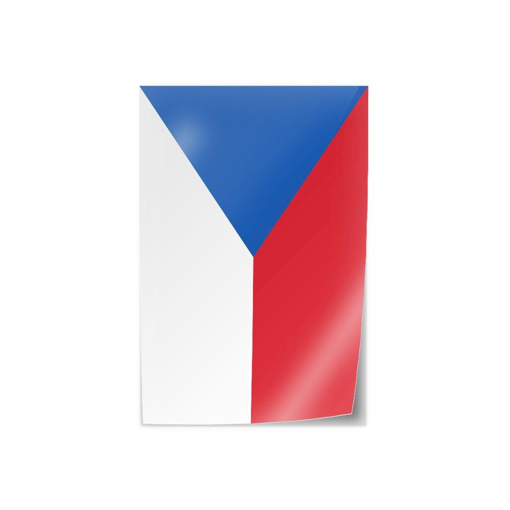 samolepka vlajka cr s