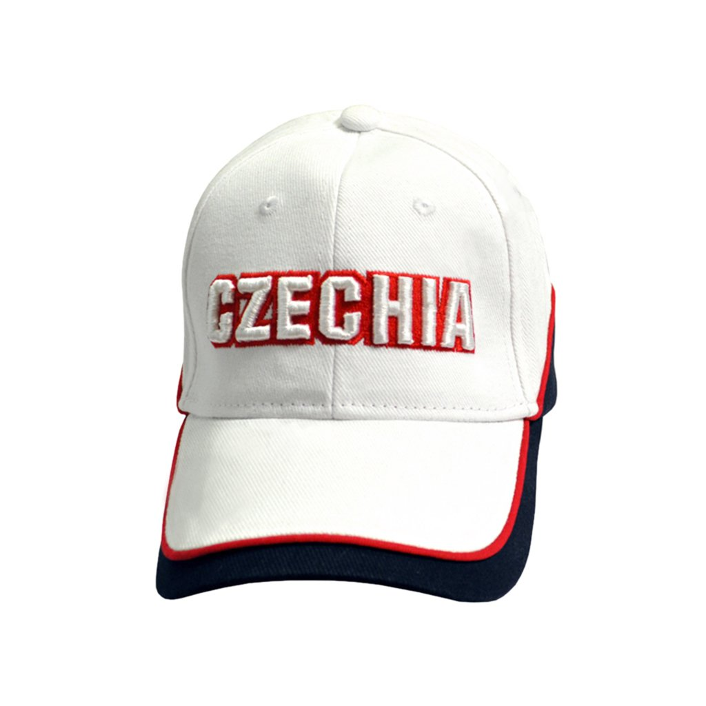 cap czechia white