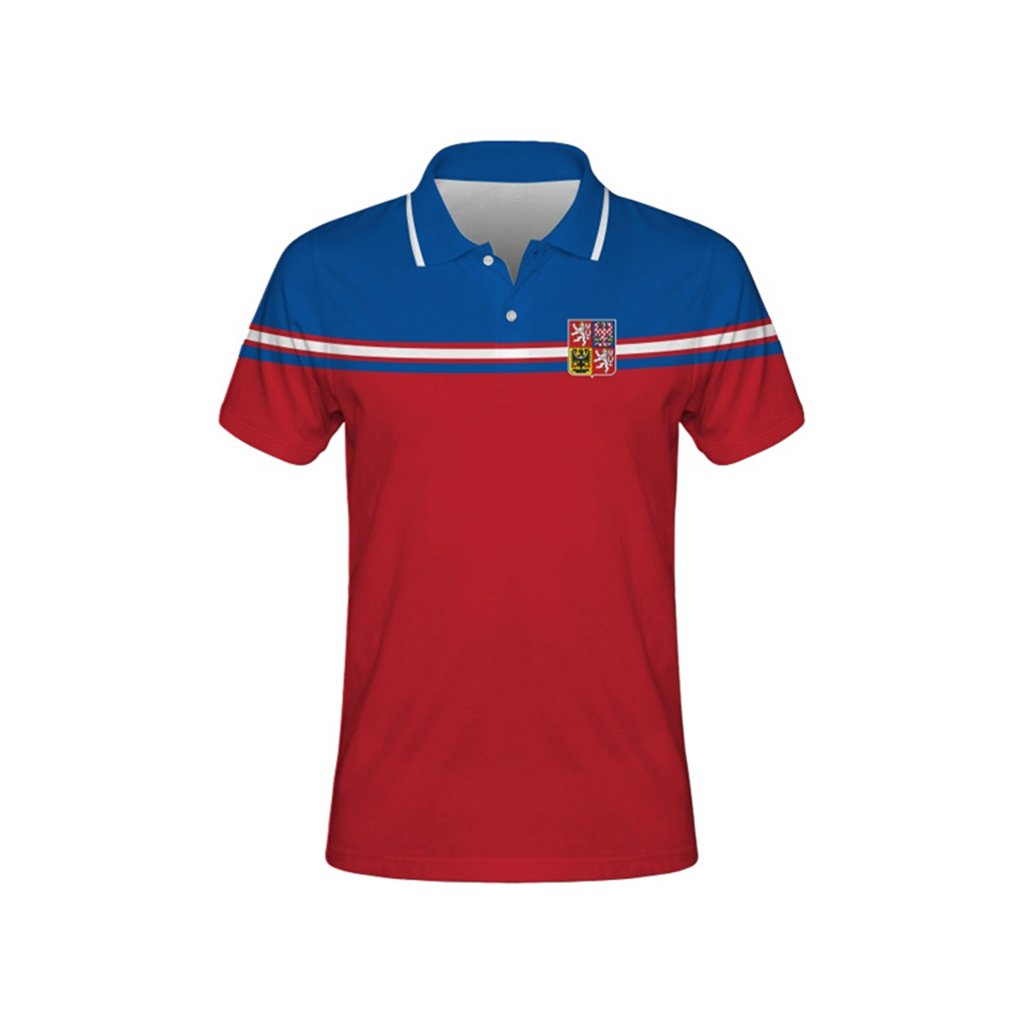 polo man czech hockey red front