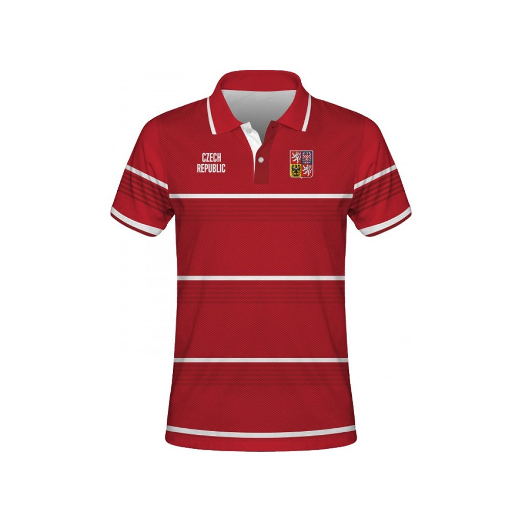 polo man czech republic red front