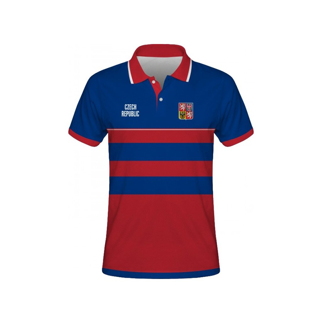 polo man czech republic blue front