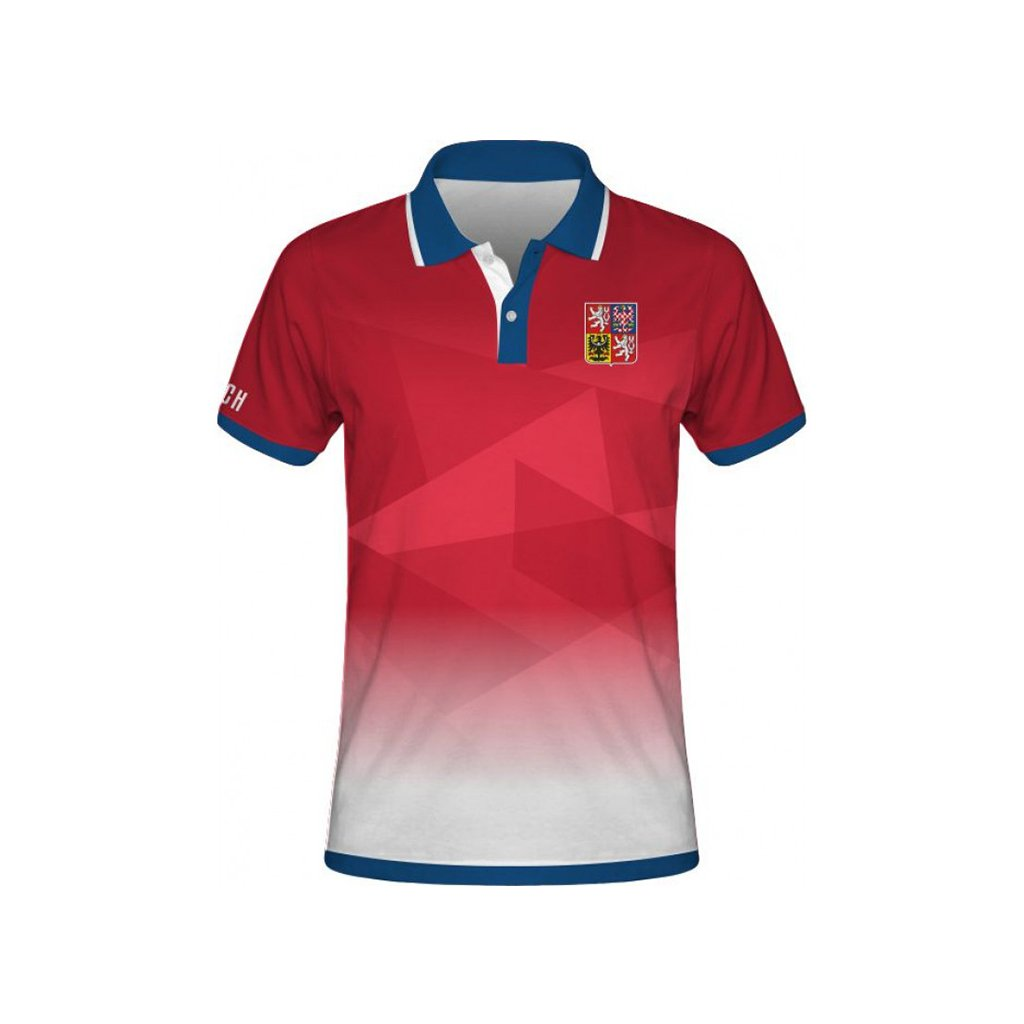 polo man czech republic t red front