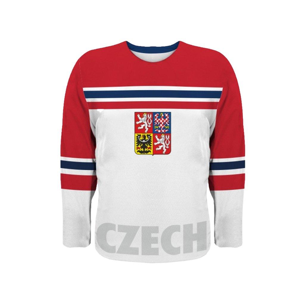 hockey jersey white