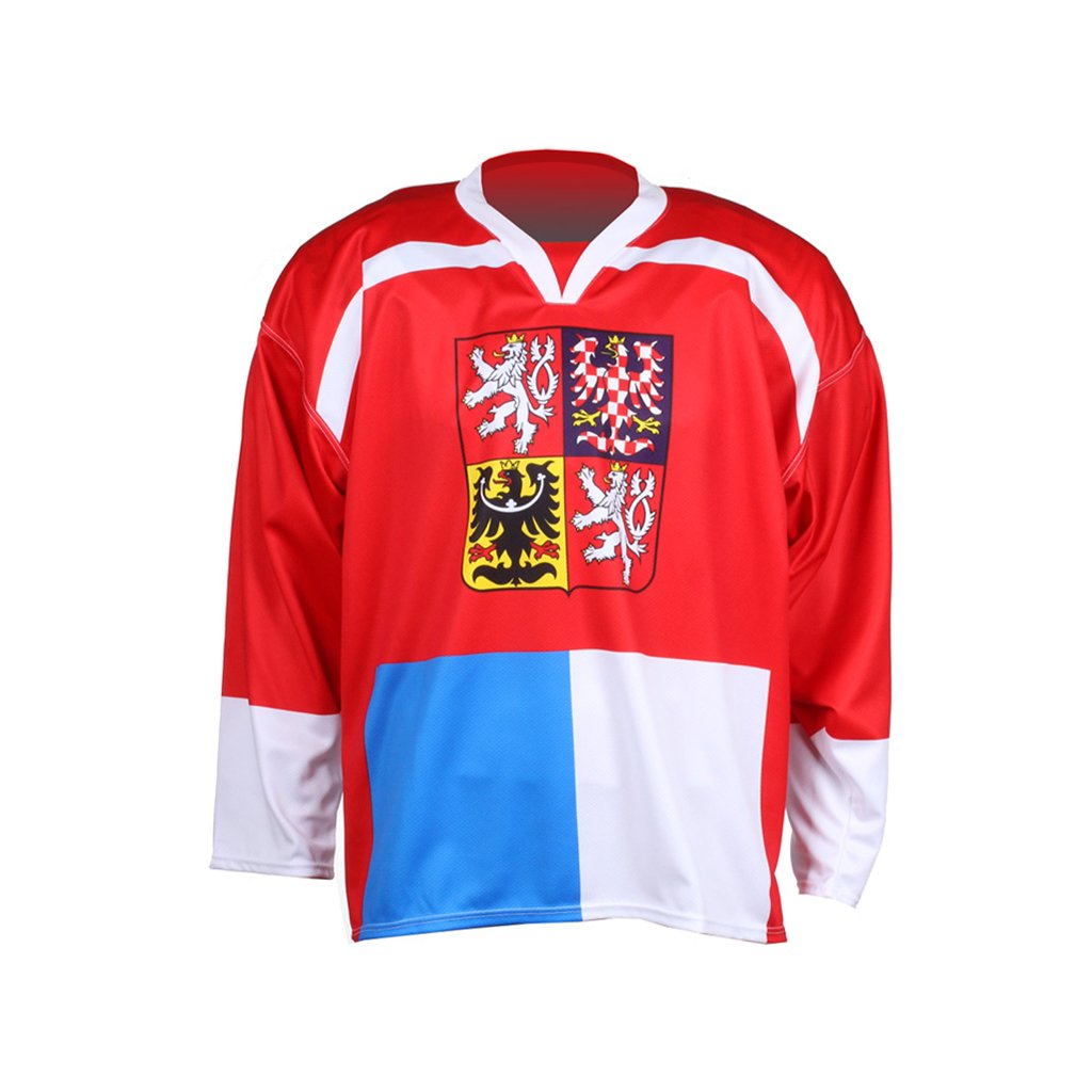 hockey jersey nagano red