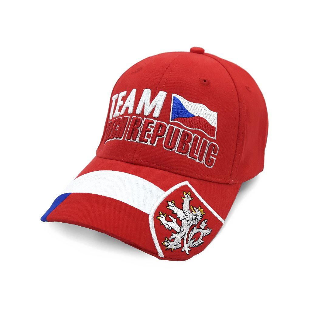 cap TEAM CZECH REPUBLIC red