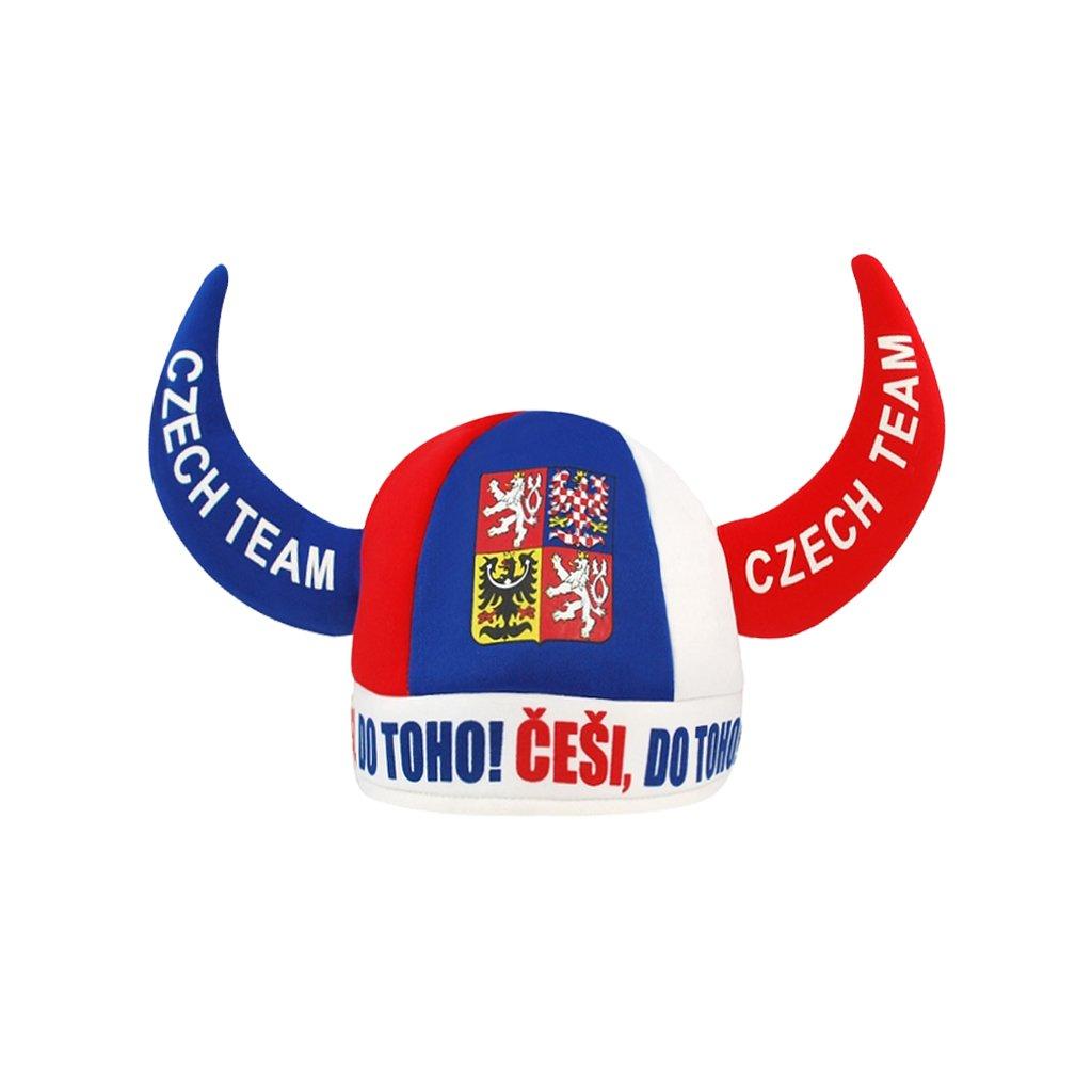 Klobouk CZECH REPUBLIC rohy CZ