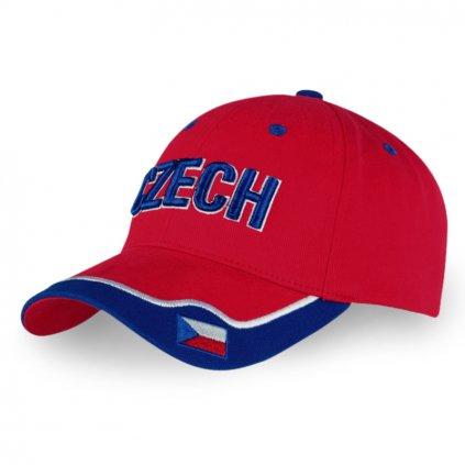 red cap CZECH flag