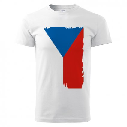 tshirt man white flag