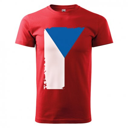 tshirt man red flag