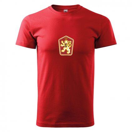 Tričko ČSSR – pánské, červené