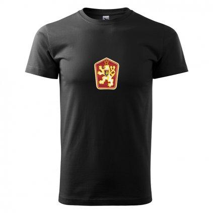 Tričko ČSSR – pánské, černé