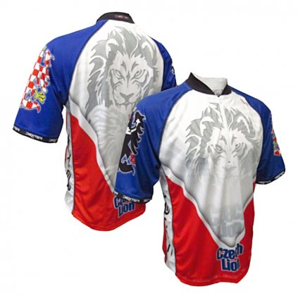 cycling jersey lion mtb