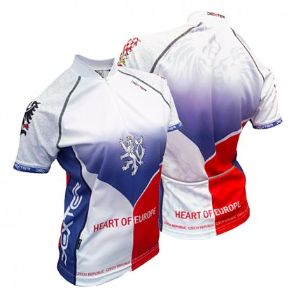 cycling jersey heart