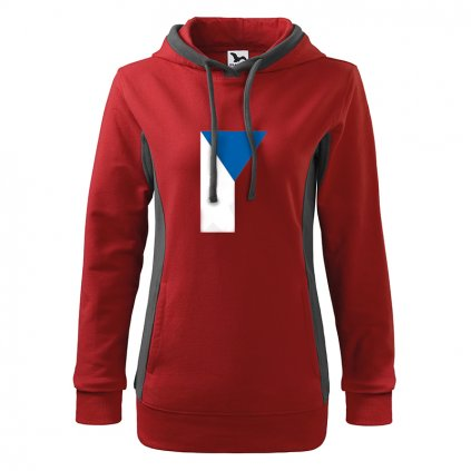 hoodies czech flag red