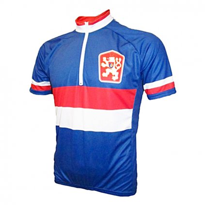 cycling jersey cssr blue