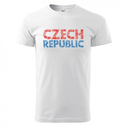 tshirt man white czech republic