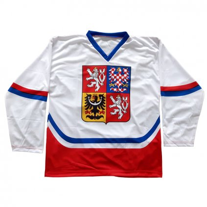 fan hockey jersey white