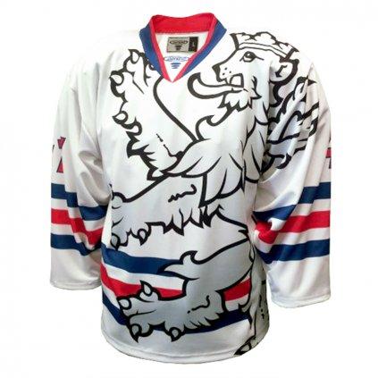 hokejovy dres czech legionar bíly