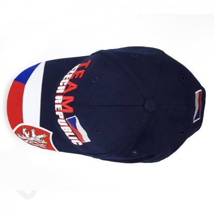 cap TEAM CZECH REPUBLIC blue