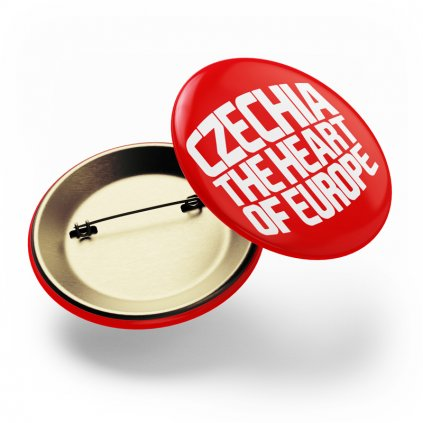 Placka CZECHIA červená