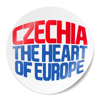 samolepka CZECHIA eu
